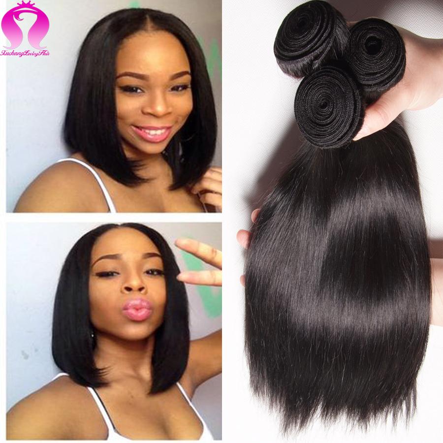 Alibaba Yaki Straight Hair 8a Brazilian Virgin Hair Rosa Hair Products 4 Bundles Vip Beauty Hair Weave Star Style Gaga Model(China (Mainland))