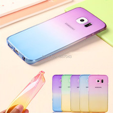 Gradient Color Case Samsung Galaxy A3 A5 A7 A8 A9 J1 J2 J3 J5 J7 2016 Grand Prime Clear Phone Cases Ultrathin TPU Soft Cover - FASHION 5 STORE store