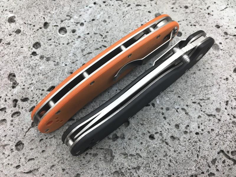 "Buy Seiko High Quality Randall""s RAT Model 1 folding knife AUS-8 blade G10 handle outdoor adventure hunting pocket knife EDC tool cs cheap"