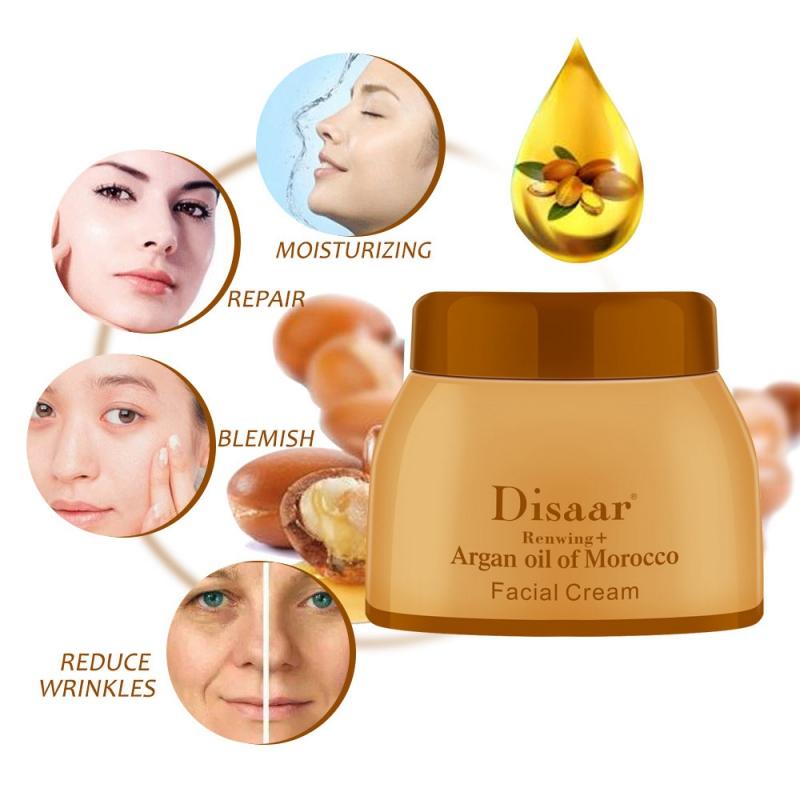 Отбеливающий крем Argan Repair осветляет пятнистую Сыворотка для лица Уход за кожей NP0642A (3)