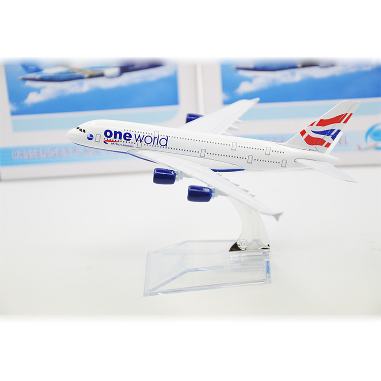 Britain One World B747 Airlines White Airplane Model Hot Sale Diecast Airplane Model Wholesale Airline Model(China (Mainland))