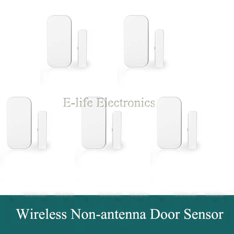 High Quality Intelligent 433Mhz Wireless Magnetic Door Sensor, Window Contact, Door Alarm For Home Alarm Burglar Alarm System(China (Mainland))