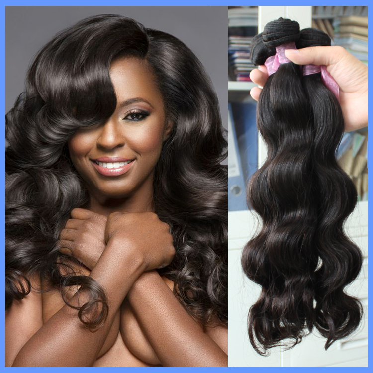Brazilian virgin hair body wave xoxo remy queen hair products 100% human hair 3pcs/a lot ,grade 5A, freeshipping by UPS/DHL(China (Mainland))
