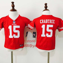 100% stitched baby San Francisco 49ers children 16 Joe Montana 42 Ronnie Lott 80 Jerry Rice 82 Torrey Smith 81 Anquan Boldin(China (Mainland))