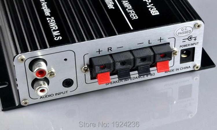 New LPV3 high-power car amplifier 2015 Hot sale car amplifier car stereo power amplifier car small computer(China (Mainland))