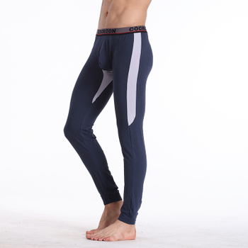 Free Shipping Pure cotton man long Johns Tight tiger line cold warm leggings