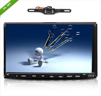 """Double 2 Din 7"""" Car DVD Android CD MP3 Player Touch Screen In Dash Stereo Radio+Camera"""