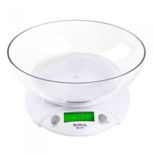 Buy 7KG * 1G Digital Scale LCD balance Kitchen Scale Electronic Weighing Scales Parcel Food Weights Balance Kitchen Bowl for $11.50 in AliExpress store
