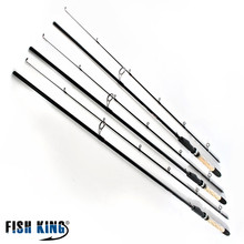 FISHKING 99% Carbon Soft Bait Lure Spinning Rod 2.1m 2.4m 2.7m 5-25G 2 Section Lure Weight 20-60LB Line Weight Carp Fishing Rod(China (Mainland))