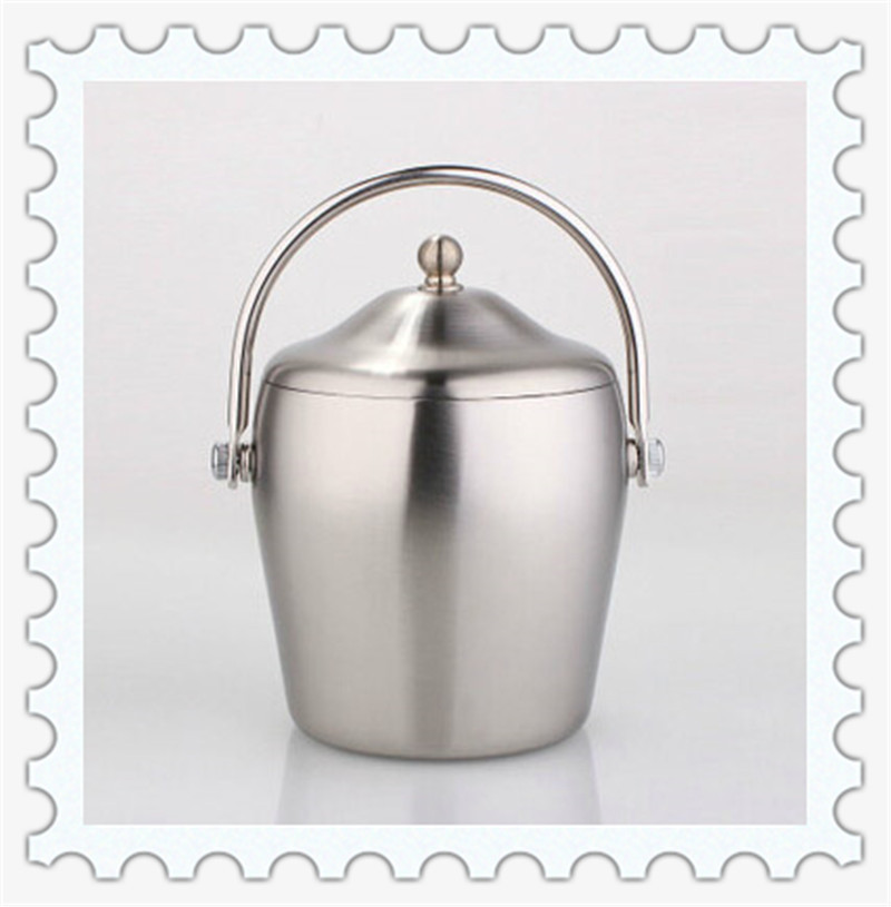 Stainless Steel Metal Wine/Champagne Ice Cooler Bucket(China (Mainland))