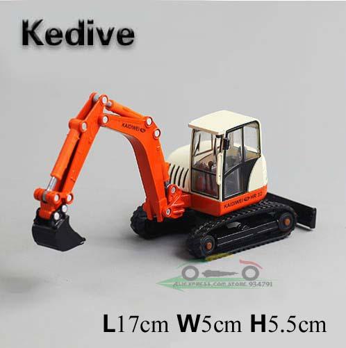 Supernova Sale Kids Car Model Cars Kaidiwei Crawler Mini Children's Excavators Alloy Hot Lot Toys 1:87 Wholesale Free Shipping(China (Mainland))
