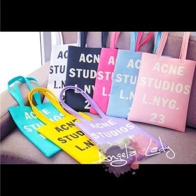 Free Shipping 2014 New Arrival ACNE STUDIOS LNYG 23 FASHION Brand HANDBAG SHOPPING BAG(China (Mainland))