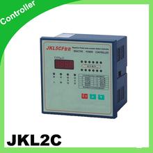 JKL2C power factor controller for power factor correction bank 220v 50hz 8step