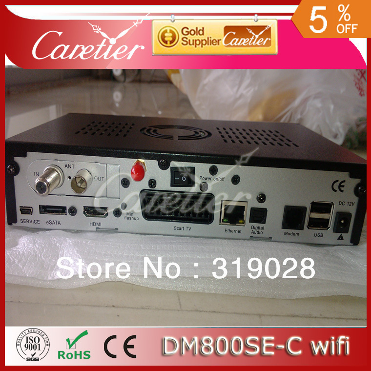 2pcs/lot digital cable tv set top box DM 800HD SE Cable DVB-C tuner and wifi Enigma 2,(1pc 800se-c wifi)(China (Mainland))