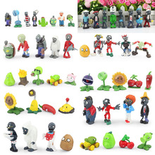 Buy Plants VS Zombies Game Action Figure 3cm~8cm PVZ 52pcs/set Collection Figures Toys Gifts Plant VS. Zombies for $42.00 in AliExpress store