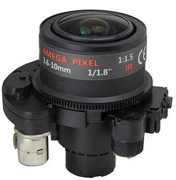 "DC Auto IRIS Auto Focus 1/1.8"" 6MP Megapixel Motor Zoom Motor Focus 3.6-10 mm CCTV Motorized Zoom Lens (SL-3610MFZ6)(China (Mainland))"