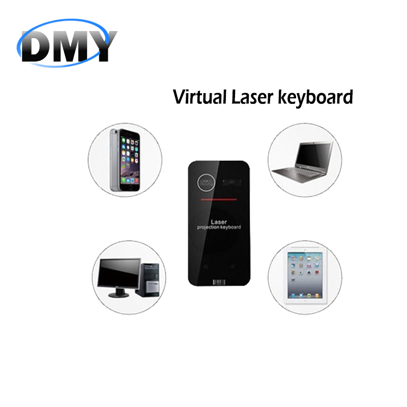 Black Mini Portable KB560 Virtual Laser keyboard and mouse Bluetooth Projection Projected Keyboard for Ipad Iphone Tablet PC(China (Mainland))