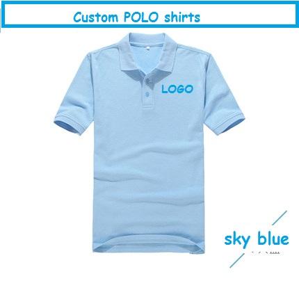 Brand quality cotton men women camisa polo shirt short for Custom company polo shirts
