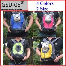 Pet Carrier Dog Carrier Pet Backpack Bag Portable Travel Bag Pet Dog Front Bag Mesh Backpack Head Out Double Shoulder Outdoor(China (Mainland))