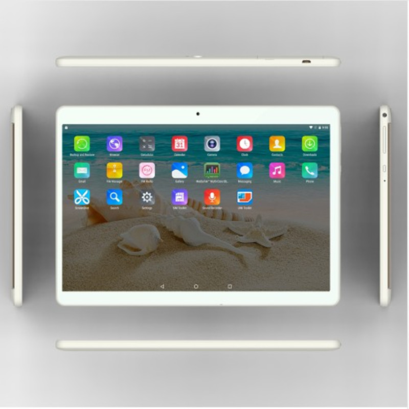 2017 New 10 inch 4G LTE Tablets Octa Core Android 6.0 RAM 2GB ROM 16GB Dual SIM Cards 1920*1200 IPS HD 10.1 inch Tablet PCs+Gifs(China (Mainland))