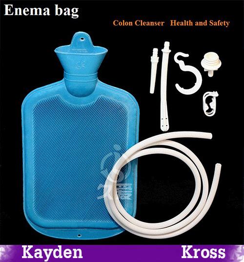 Большие пористый клизма вода мешок душ тип кишечных чистящее средство влагалища анальный ...
