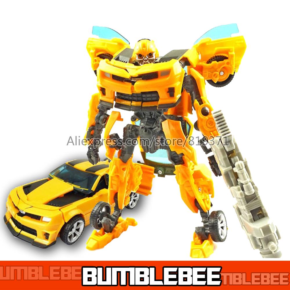 Гаджет  Original box Brinquedos Optimus Prime Bumblebee Transformation 4 Robots Action Figures Classic Kids Toys for boys Birthday gift None Игрушки и Хобби