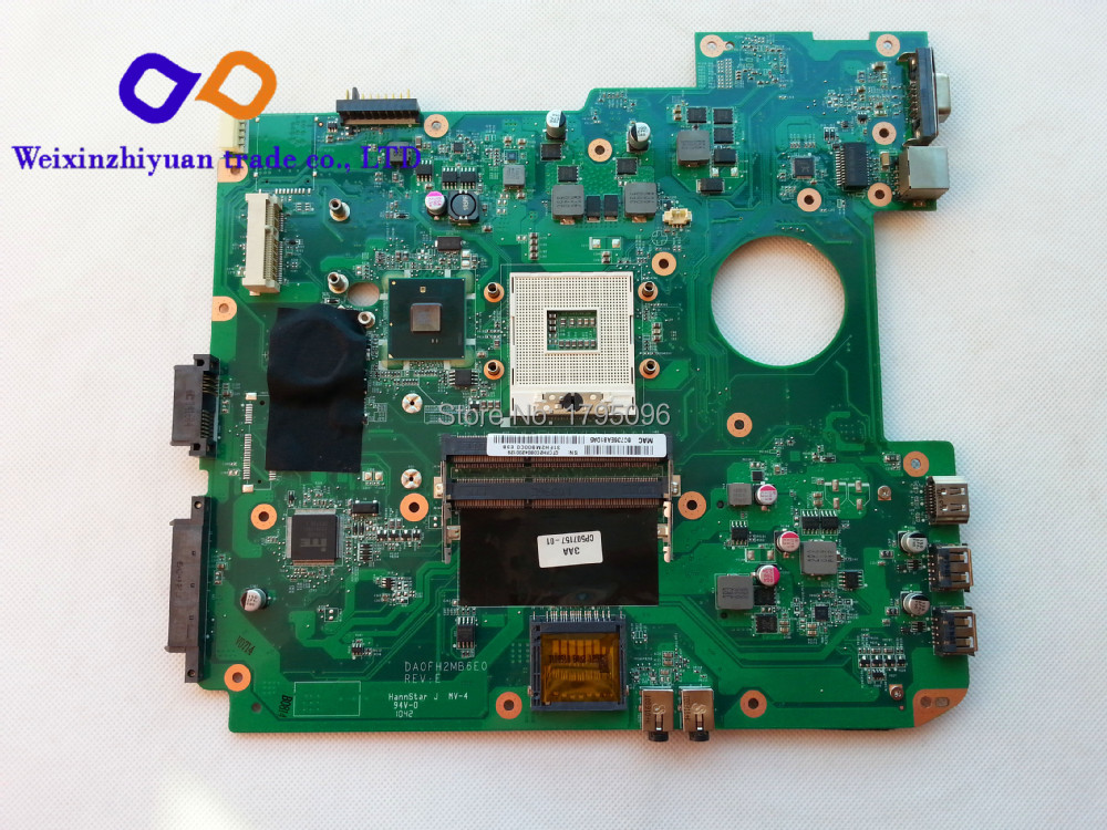 For Fujitsu Lifebook AH530 Laptop Motherboard DA0FH2MB6E0 Mother board 100% Tested(China (Mainland))