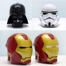Star Wars Mug 3D Black Knight White Knight Iron Man Three-dimensional Plastic Cup of Coffee Cup(China (Mainland))