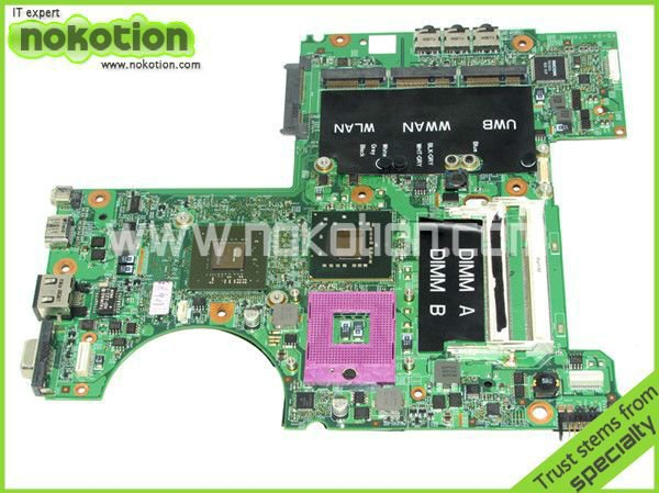 0N028D 48.4W101.031 laptop motherboard for DELL XPS M1530 PM965 NVIDIA GeForce 8600M GT DDR2 Mainboard Full Tested(China (Mainland))