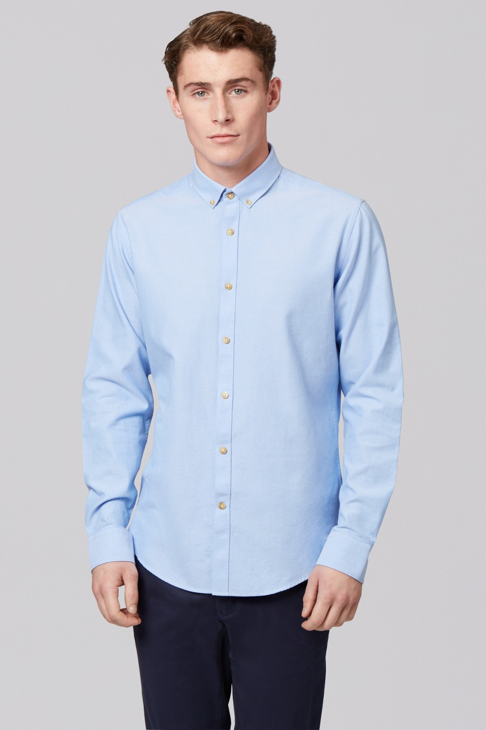 Compare Prices on Oxford Blue Dress Shirt- Online Shopping/Buy Low ...