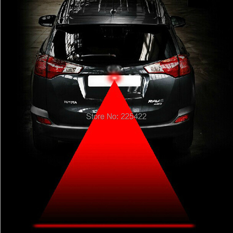 newest laser led fog light auto motorcycle car laser fog lamp car external lights parking truck Warning Light car-styling(China (Mainland))