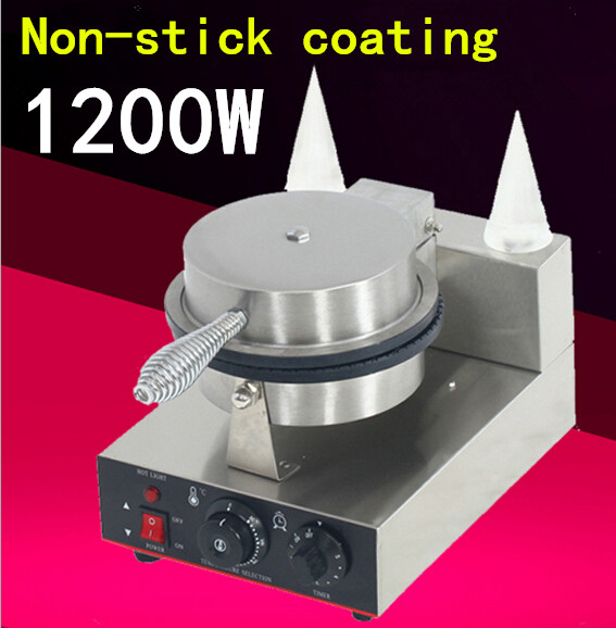 Гаджет  110V / 220V  1200W Electric 1-plate cone baker, ice cream cone machine/ Electric cone maker/ egg roll maker,Cone machines/7 None Бытовая техника