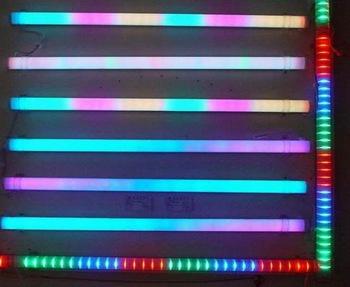 6 Pixels/M full color RGB LED Digital Tube,TM1809 IC,9W 108pcs Led,IP65 with Aluminum Base 20 pcs /LOT(China (Mainland))