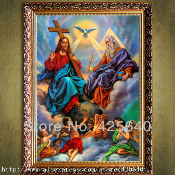 Home Decor Jesus Christ Painting Jesus Save Us Art Decor Painting Print Giclee Art Print On Canvas Ready to Frame25(China (Mainland))