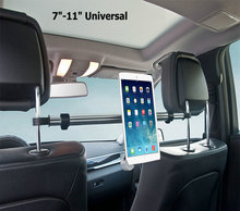 "Factory Direct Sale 7""-11"" Aluminum Tablet Holder Mount For iPad Mini 2 3 4 Air 2 For Samsung Xiaomi Soporte Tablet Car Stand(China (Mainland))"