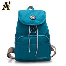 ANNY - Waterproof Nylon Ladies Backpack Drawstring String Backpack Student School Bag Laptop Backpack For Teenage Women Mochilas(China (Mainland))