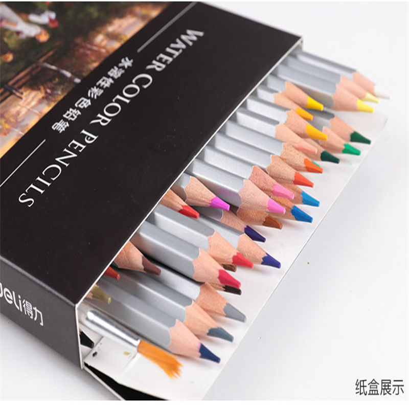 24 color water-soluble colored pencil drawing colored pencil drawing special carton packaging