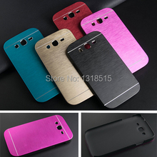 Luxury Brushed Metal Aluminium material case For Samsung Galaxy Grand Duos i9082 phone case cover