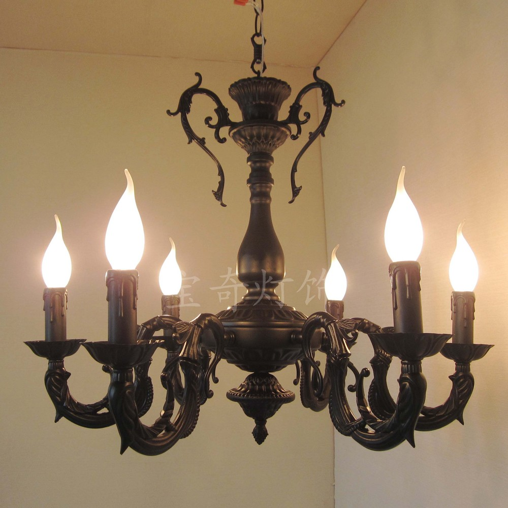 kroonluchter lamp slaapkamer lamp licht mediterraan restaurant retro ...
