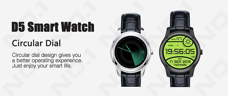 Torntisc NO.1 D5 Smart Watch Phone Support Bluetooth Wifi 3G 512MB + 4GB Heart Rate Smartwatch For Android 4.4 OS Smartphone