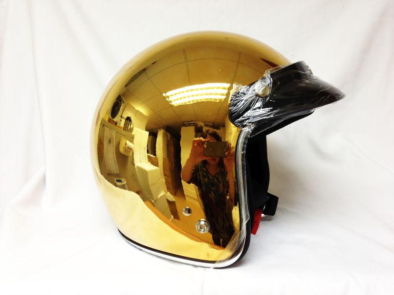 Mary Star children MASEI motorcycle helmet electric car helmet half helmet 610 gold plating