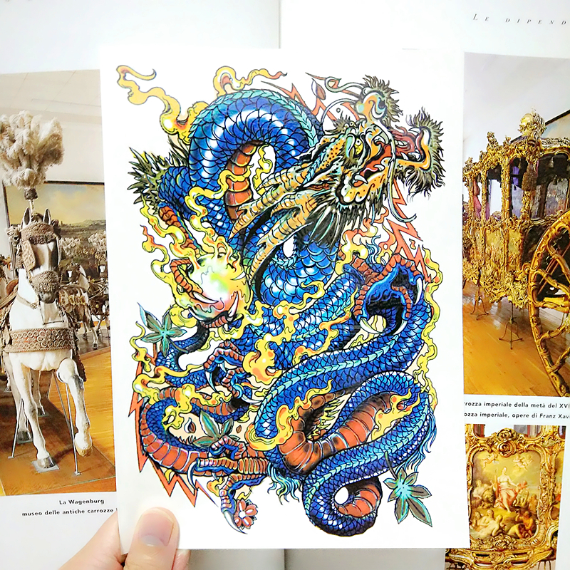 Compare prices on dragon tattoo art online shopping buy for Tattoo factory prices