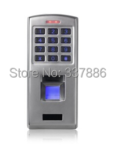 Фотография Stainless keypad fingerprint biometric door access with Wiegand