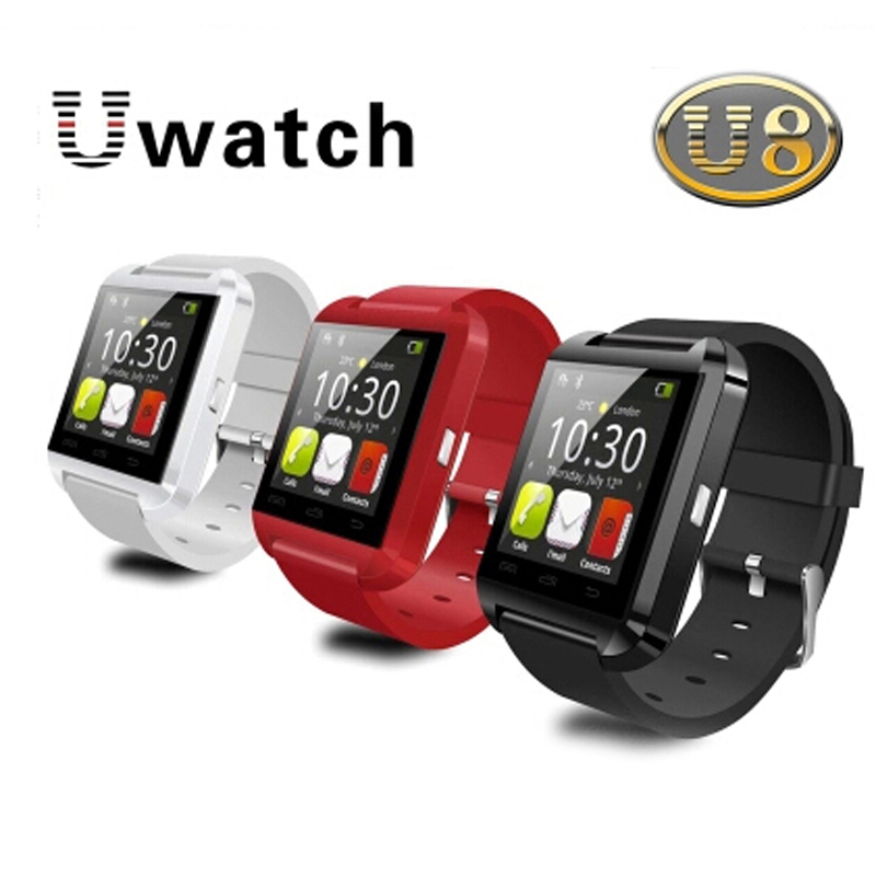 Bluetooth Smart Watch Sport U8 U80 Reloj Inteligente Wrist Phone Mate Android IOS Iphone Samsung LG