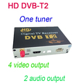 HD DVB T2 One Tuner Digital TV receiver 4 Video Output 2 Audio Output Fit All