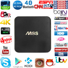 M8S Android Iptv Set Top Box With One Year Iudtv Iptv Account Iptv Apk Free Include 900 Channels Sky sports