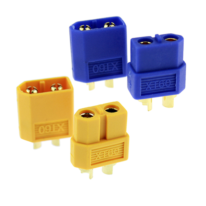 5 Pairs/lot XT60 XT-60 Male Female Bullet Connectors Plugs For RC FPV Lipo Battery RC Quadcopter Helicopter Drone(China (Mainland))