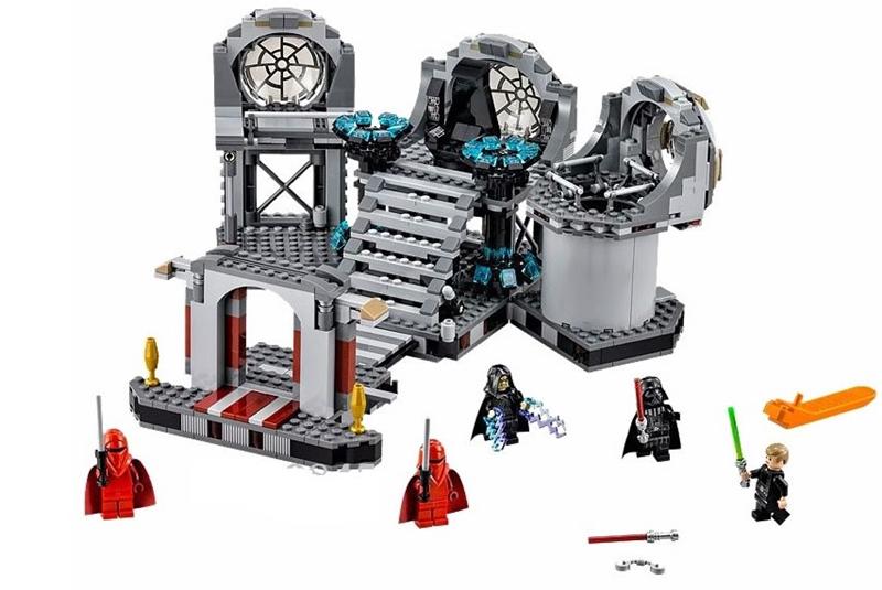 2016 New Bela 723pcs Space Star Wars Death Star Final Duel Minifigures Toys Building Blocks Bricks