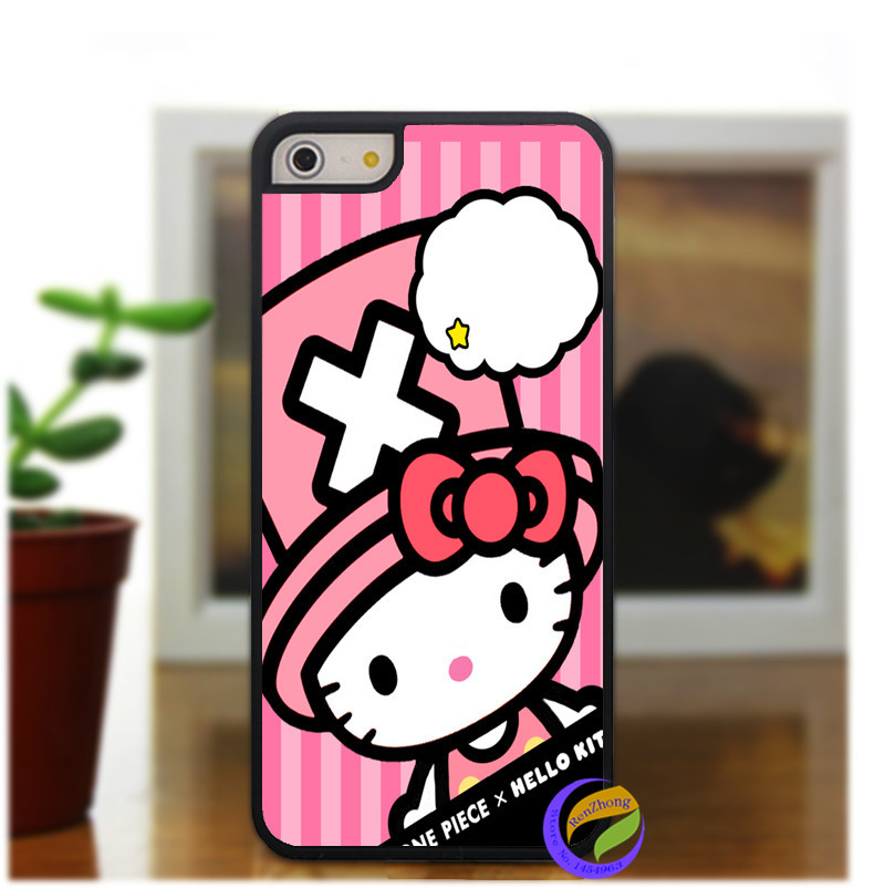 hello kitty sanrio fashion original phone cell cover case for iphone 4 4S 5C 5 5S 6 & 6plus #1864do(China (Mainland))