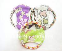 10Pcs/Lot Free Shipping Colorful Tornado Dog Training Frisbee Toys Cat Frisby Flying Disc